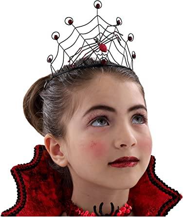 Princess Paradise Spider Web Crown in RED