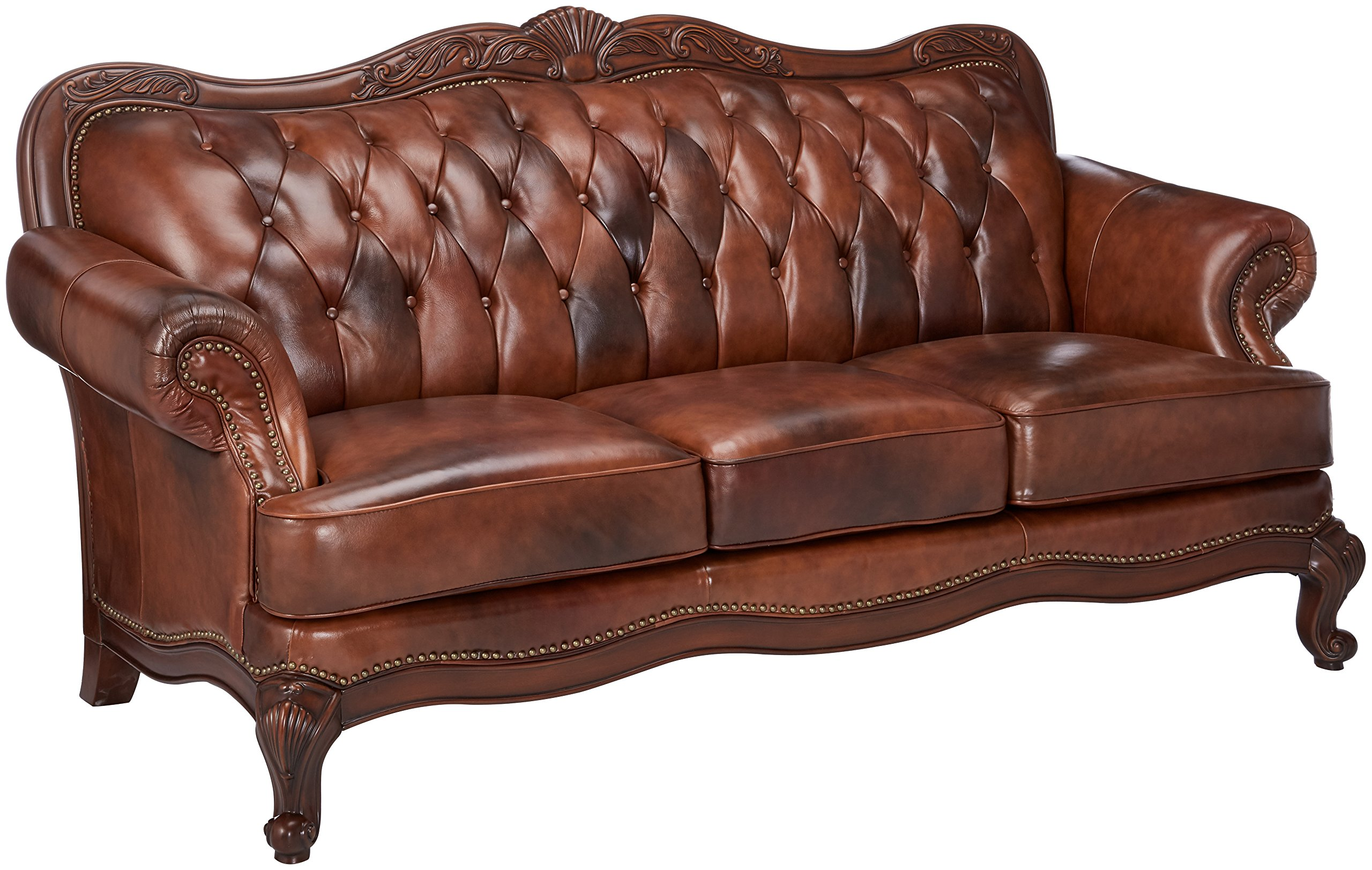 Best Rated In Sofas Couches Helpful Customer Reviews Amazon Com ~ Rolled Arm Leather Sofa