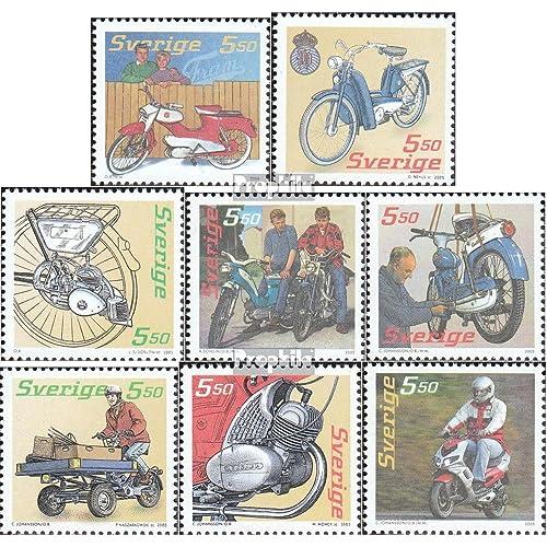 Suède 2493-2500 (complète.Edition.) 2005 Mopeds (Timbres pour les collectionneurs)