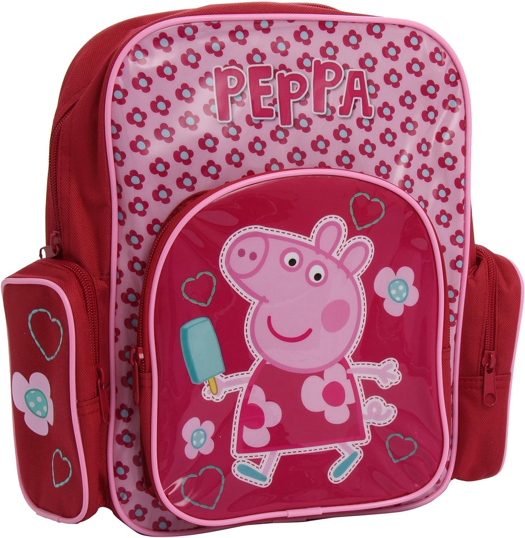 Peppa Pig Hopscotch Backpack One Size Pink