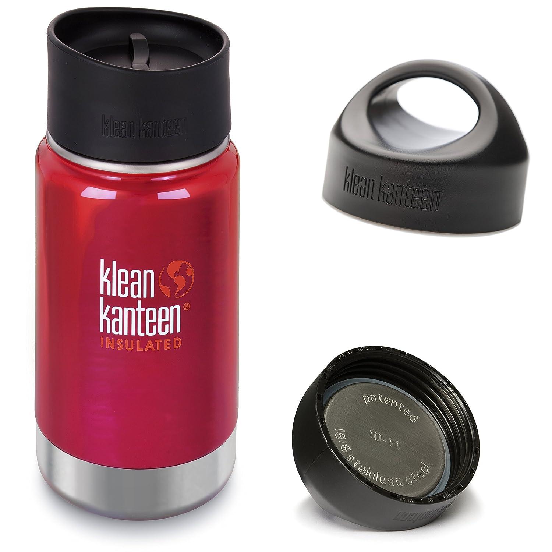 Klean Kanteen Wide Mouth Water Bottle with Loop Cap