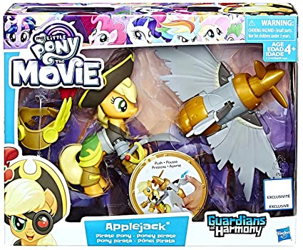 amazon com applejack pirate pony guardians of harmony my little