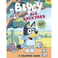 Big Backyard: A Coloring Book