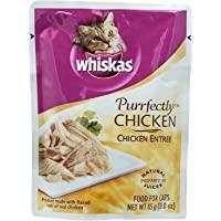 Whiskas Purrfectly Chicken Wet Food for Cats - 85 gm
