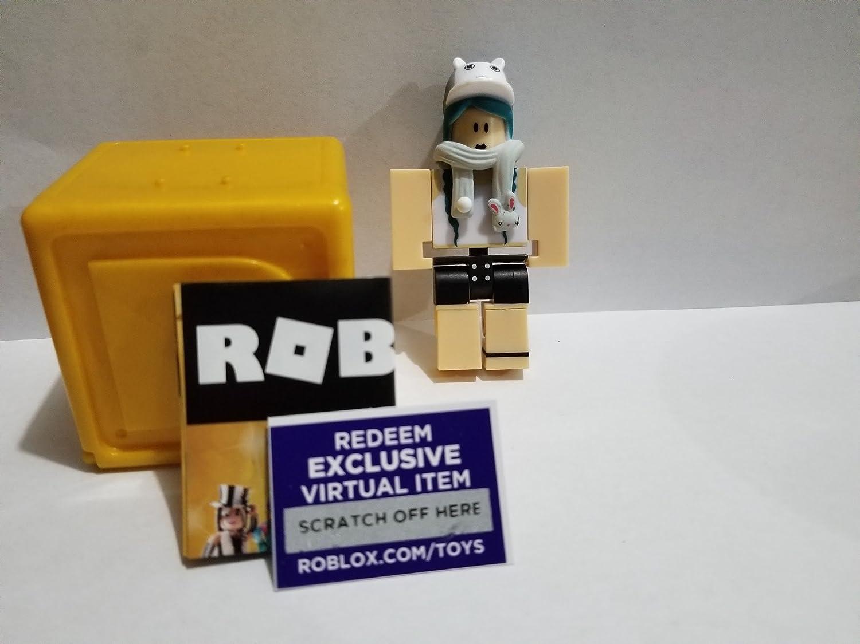 Virtual Item Code 2.5 Jazwarez ROBLOX GOLD Celebrity Series shellc action Figure mystery box