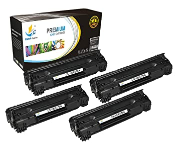 Catch Supplies Replacement CF279A - 79A Black Toner Cartridge 4 Pack |1,000 yield| Compatible with HP LaserJet Pro MFP M26nw, M26a, HP LaserJet Pro ...