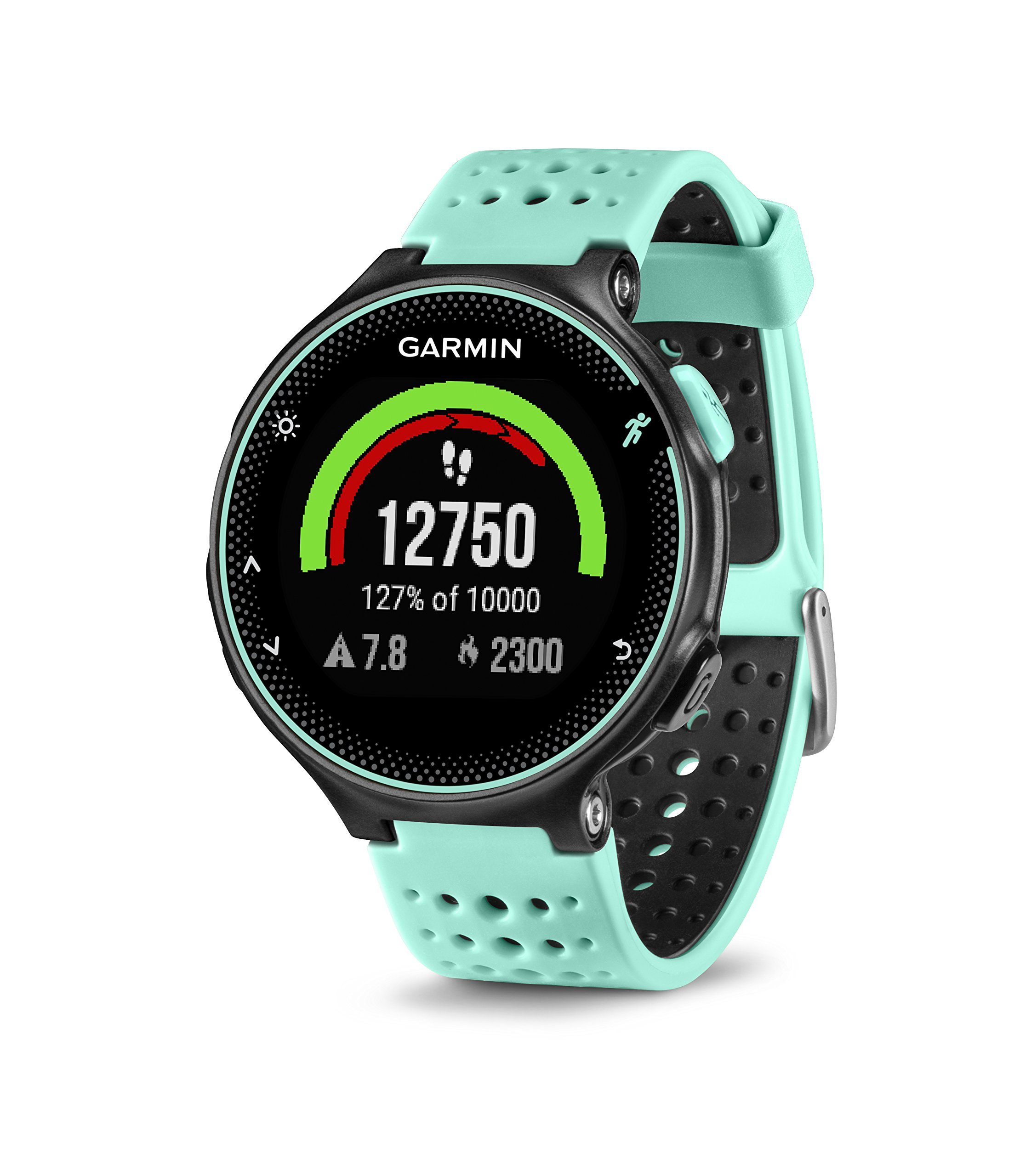 Garmin Forerunner 235 (Frost Blue) GPS Running Watch Bundle | with HD Screen Protector Film (x4) & PlayBetter USB Car/Wall Adapters | On-Wrist Heart Rate | Elevate Heart Rate Technology | VO2 Max by PlayBetter (Image #3)