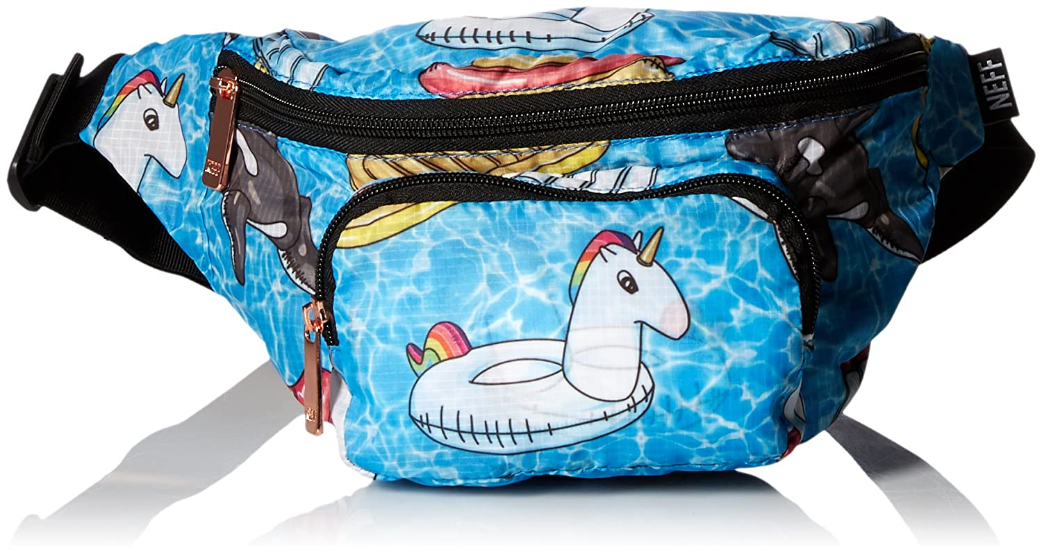Neff mens standard Neff Daily Waistpack - Stylish Fannypack Pool Party One Size 18P68006