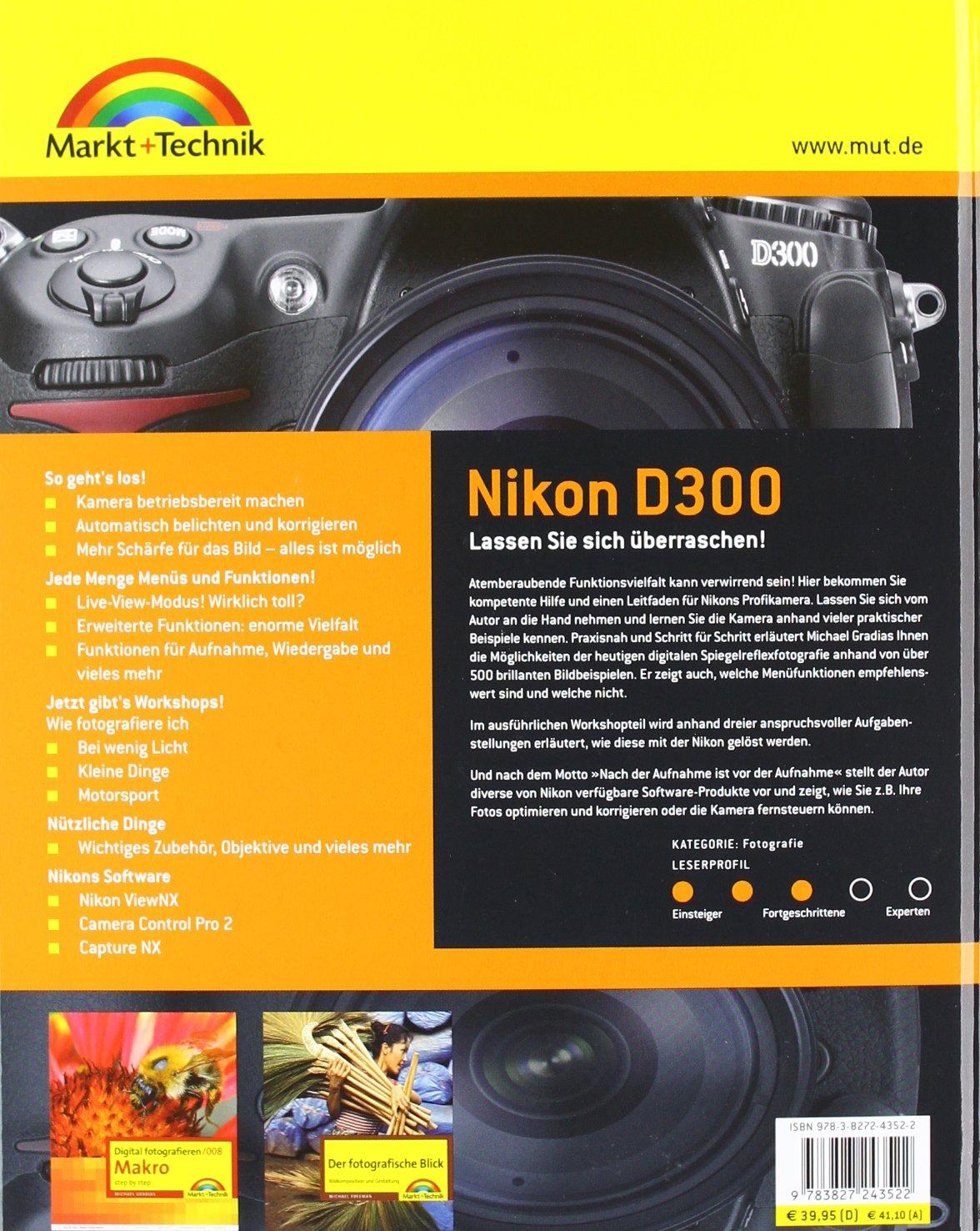 Nikon D300: Amazon.es: Gradias, Michael, Gradias, Michael: Libros ...