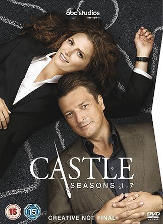 Castle Season 1 7 Dvd Amazoncouk Nathan Fillion Stana Katic