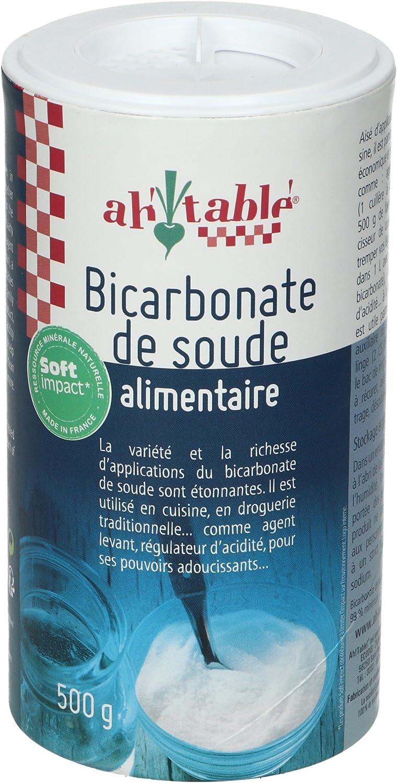 Bicarbonato sódico de uso alimentario, 500 g