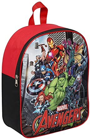 b7228596b2e9 Image Unavailable. Image not available for. Colour  Kids Children Boys  Marvel Avengers Backpack Hulk Iron Man Captain America Thor Backpack  Rucksack Back to