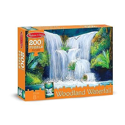 Melissa & Doug Woodland Waterfall Scene Jigsaw Puzzle (200 pcs): Melissa & Doug: Toys & Games
