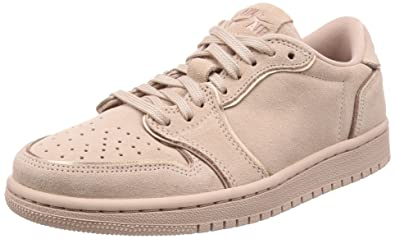 e22e2729447 Jordan Retro 1 Low NS Particle Beige/Metallic Red Bronze (Womens) (6.5
