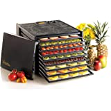Excalibur Food Dehydrator 9-Tray Electric with 26-hour Timer, Automatic Shut Off and Temperature Settings for Faster and Effi