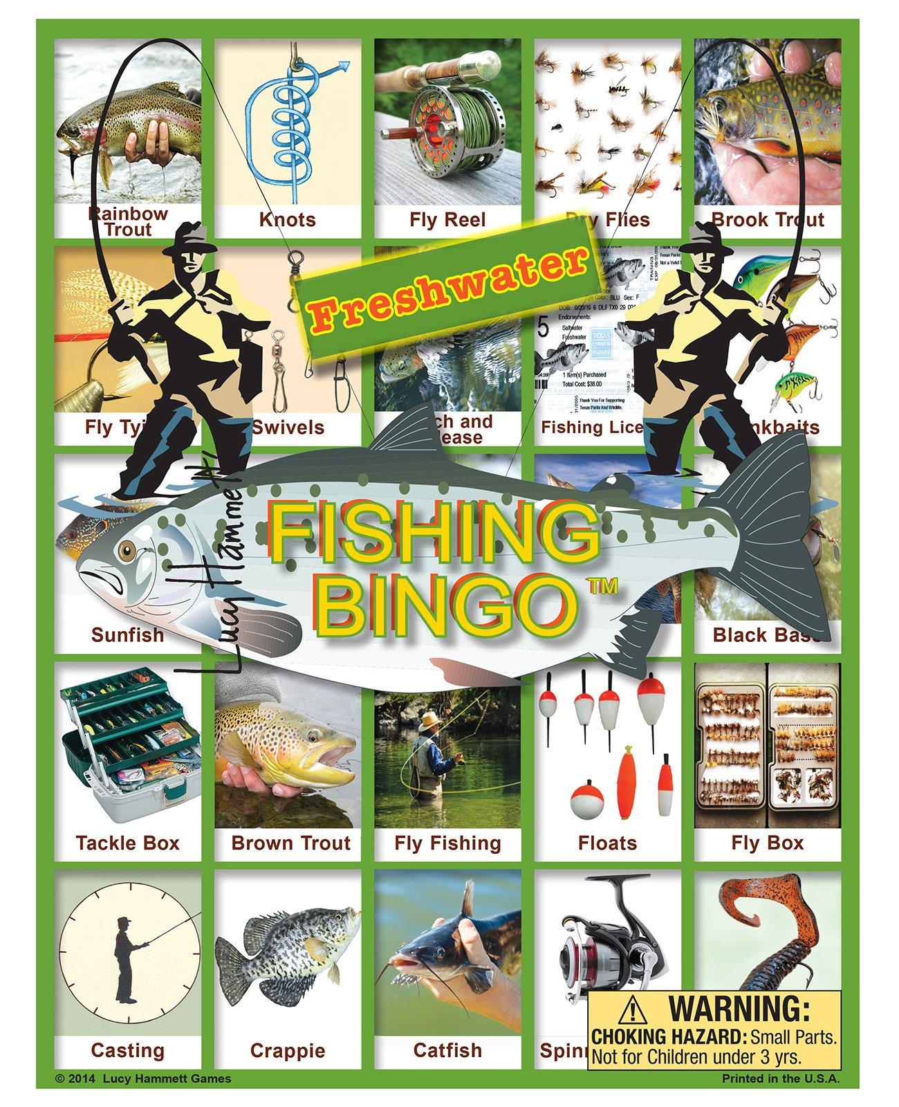 Freshwater Fishing Bingo