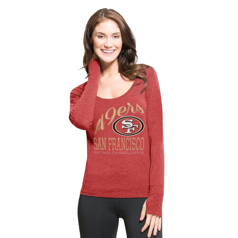 b2b2fd00e NFL San Francisco 49ers Women s  47 Forward Dash Long Sleeve Tee ...