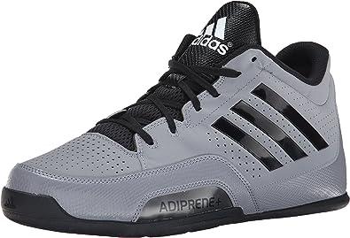 recuperar escucho música Alienación  Adidas Performance Serie 3 2015 Zapatillas de Baloncesto,  Gris/Negro/Blanco, 15 M US: Amazon.es: Zapatos y complementos