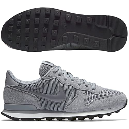 new style fb062 ff87e Nike 828407-004, Zapatillas de Deporte para Mujer, Gris Stealth Dark  Grey Summit White, 44.5 EU  Amazon.es  Zapatos y complementos