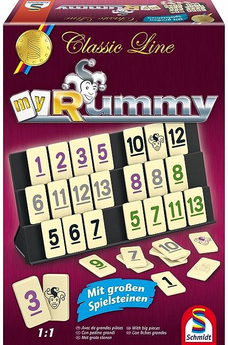 Neu Rummy Classic Line gr Spielfiguren