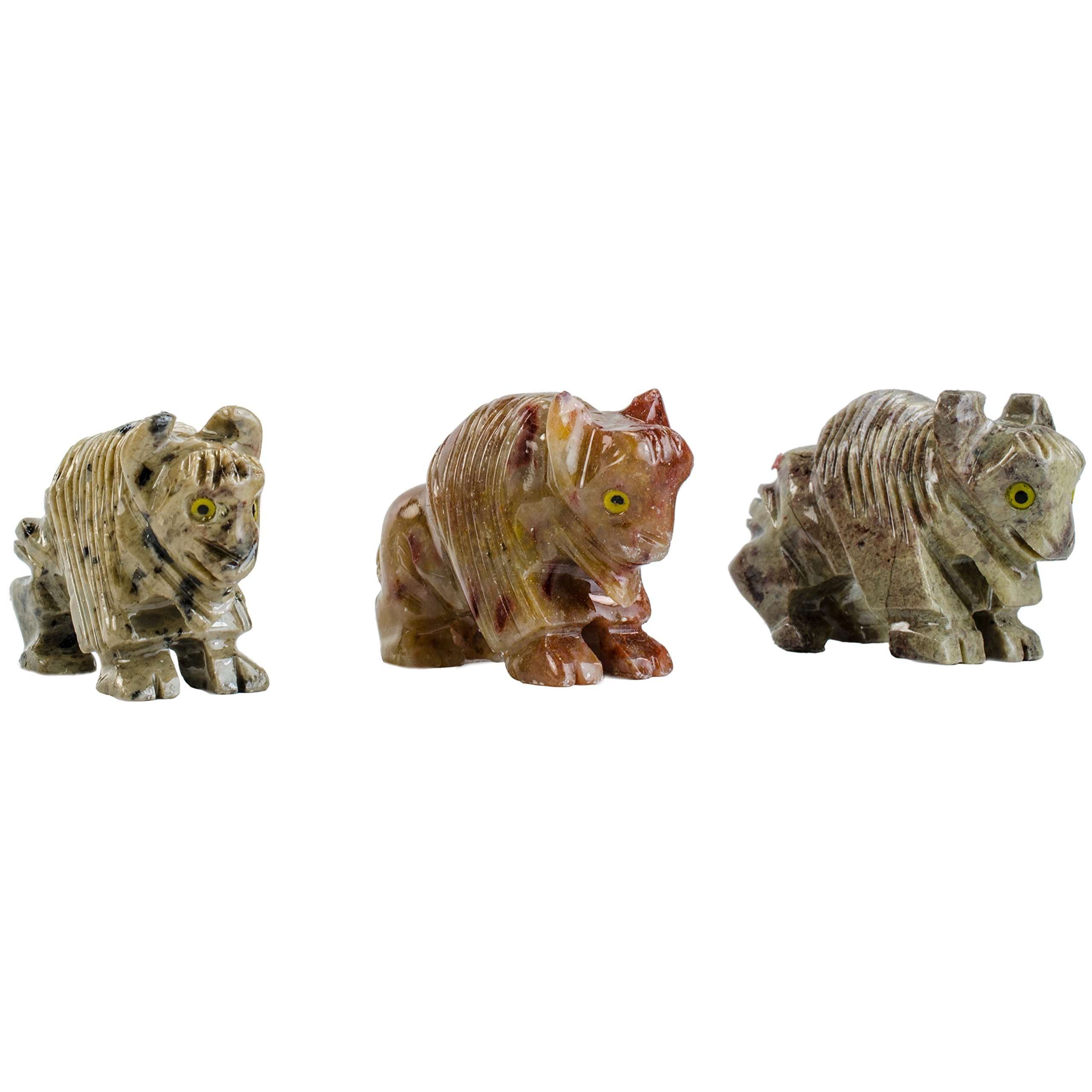 Digging Dolls : 10 pcs Artisan Buffalo Collectable Animal Figurine - Party Favors, Stocking Stuffers, Gifts, Collecting and More!