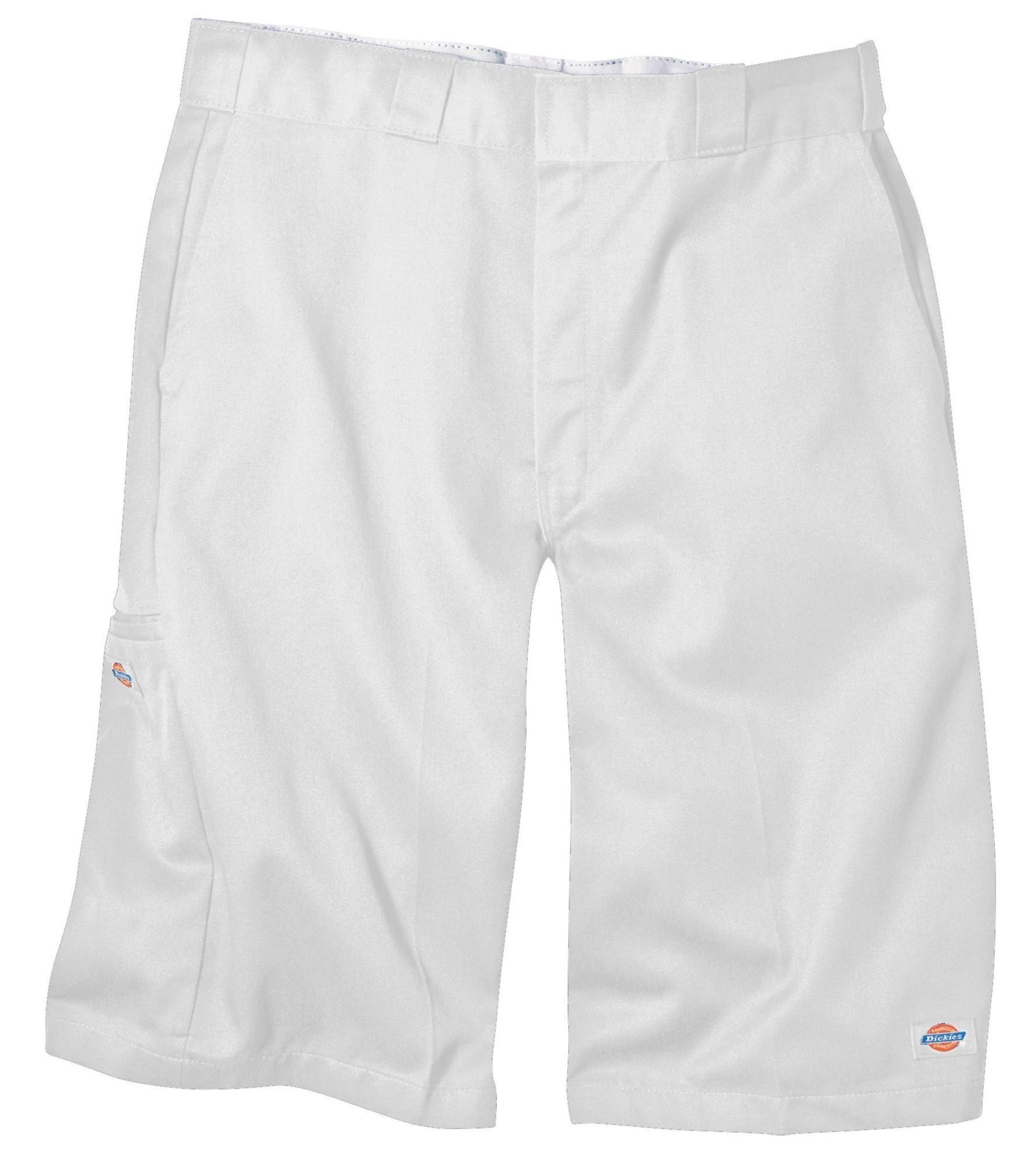 Dickies 42283 13'' Loose Fit Multi-Pocket Work Short-White-40