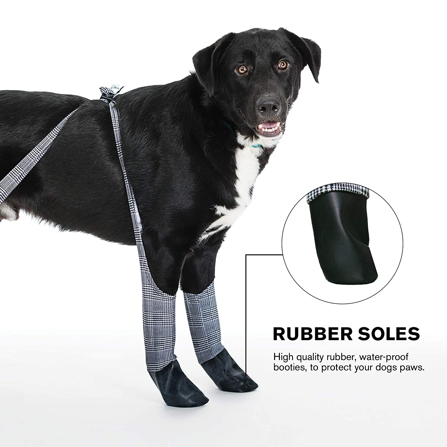 Keep Your Dogs Feet Clean and Dry Without The Hassle of Boots Walkee Paws Waterproof Dog Leggings Camoflauge