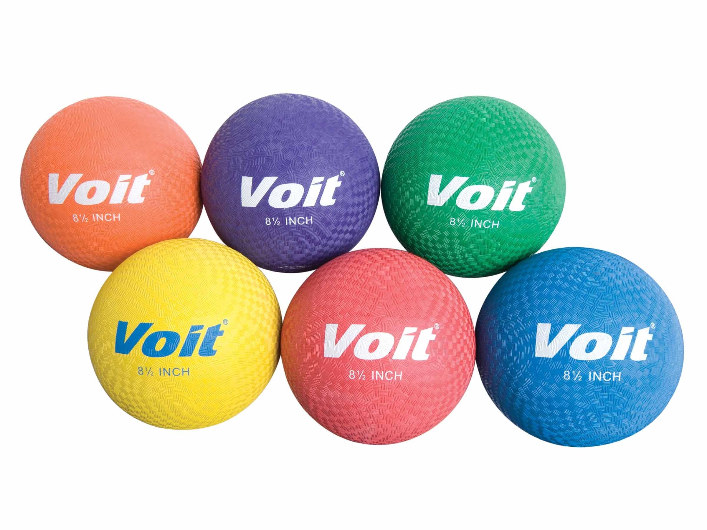 Voit Playground Balls Prism Pack, Multi, 6-Inch