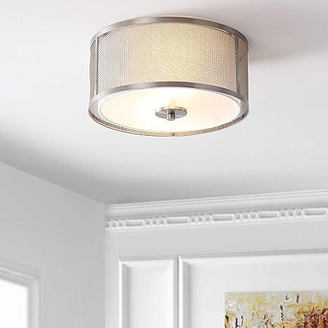 Amazon.com: Safavieh FLU4038A Eldon - Lámpara de techo (2 ...