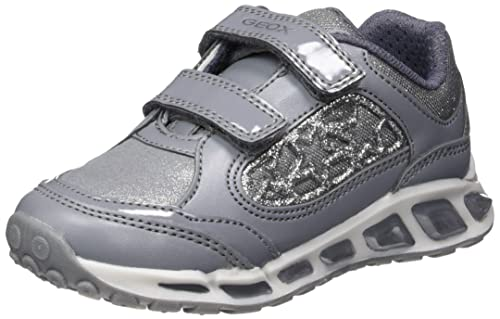 Geox Zapatos Niños Zapatillas J Shuttle Girl Gris