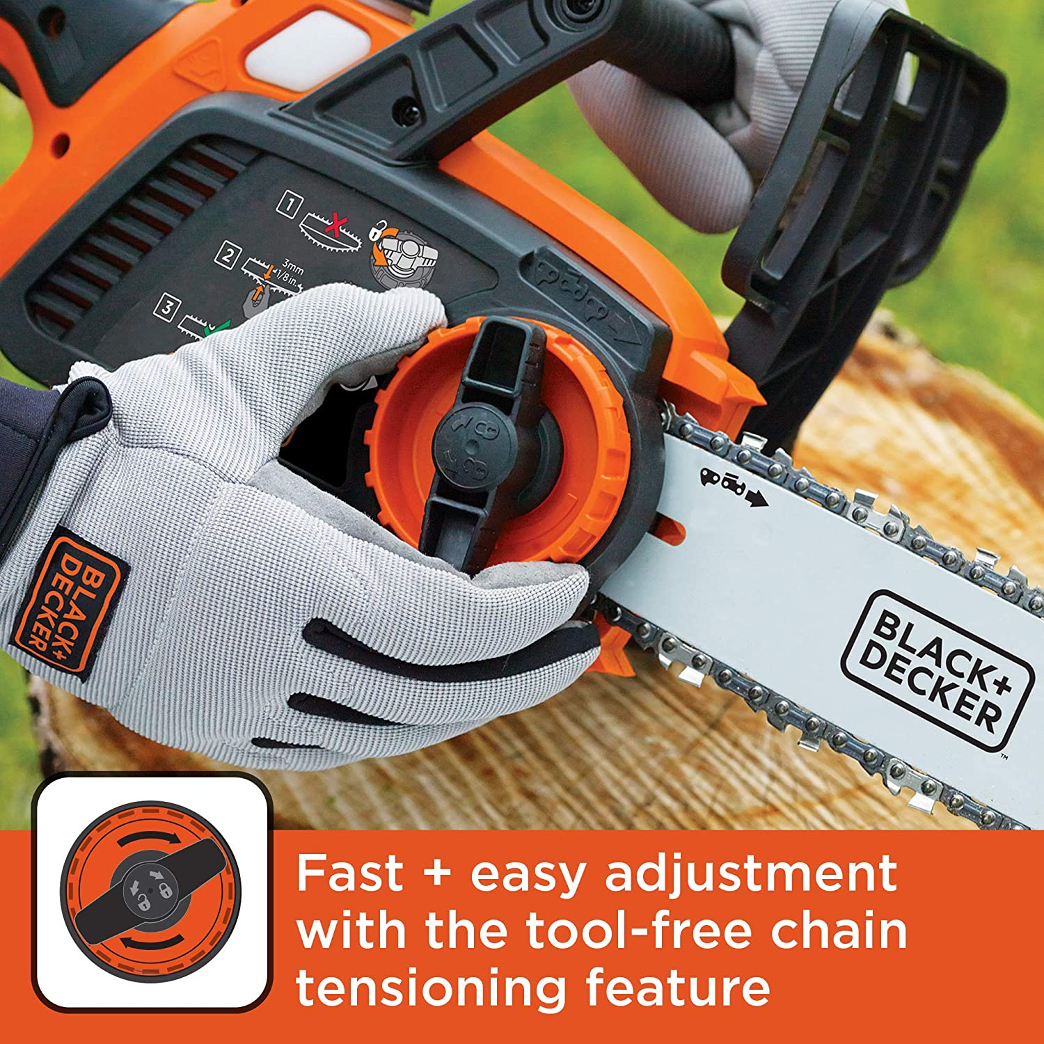 BLACK+DECKER LCS1020 Chainsaws product image 5