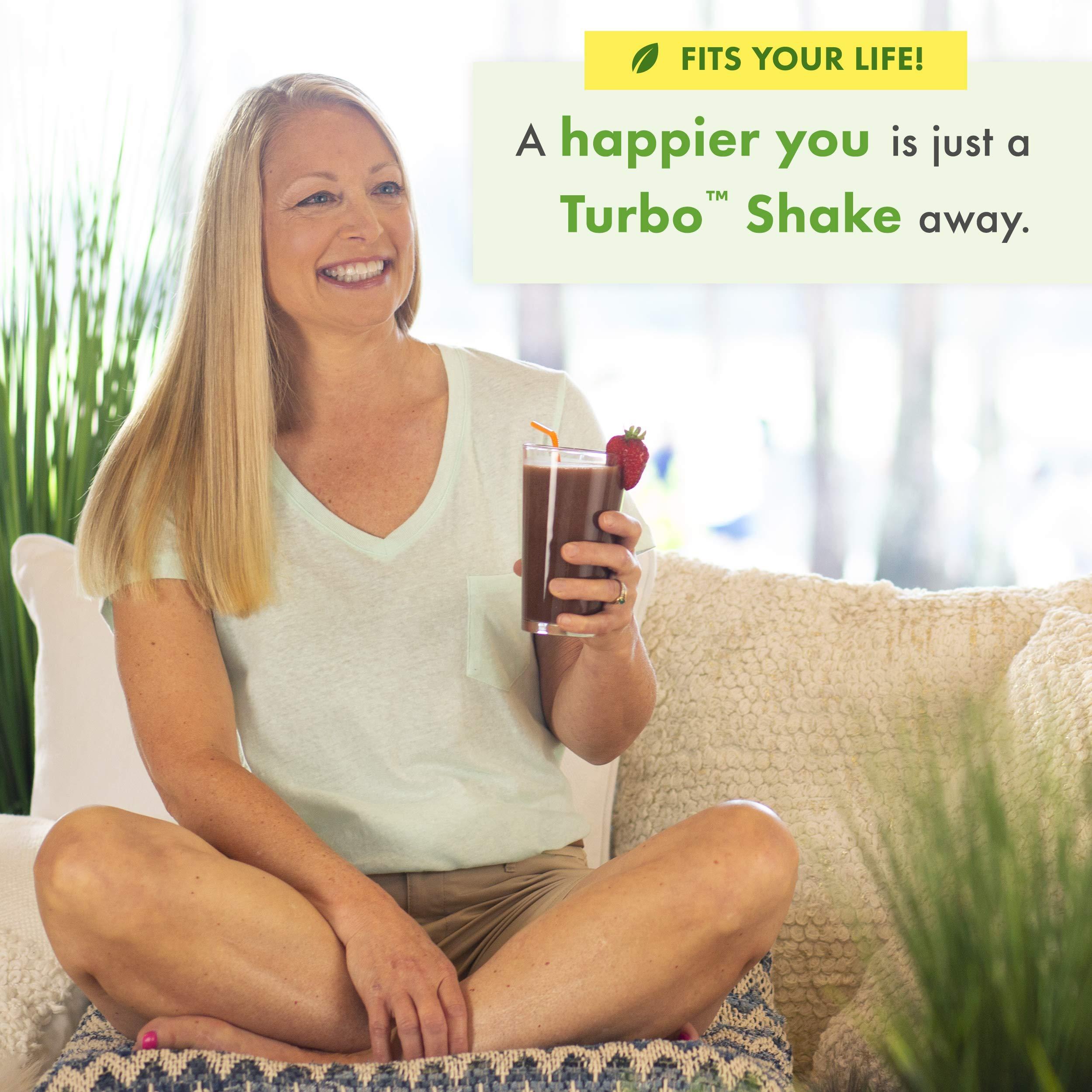 Nutrisystem® Turbo Chocolate Fudge Shake Mix, 20 ct by Nutrisystem (Image #4)