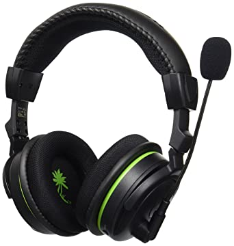 Amazon Com Turtle Beach Ear Force X42 Premium Wireless Gaming Headset With Dolby Surround Sound Xbox 360 Discontinued By Manufacturer Video Games
