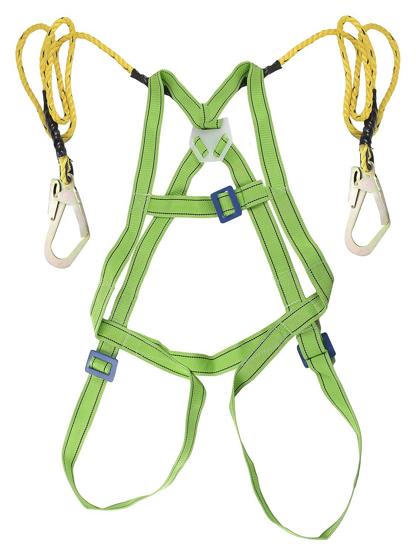 Extrapower Safety Belt Harness Full Body Scaffolding Hook Industrial Scientific
