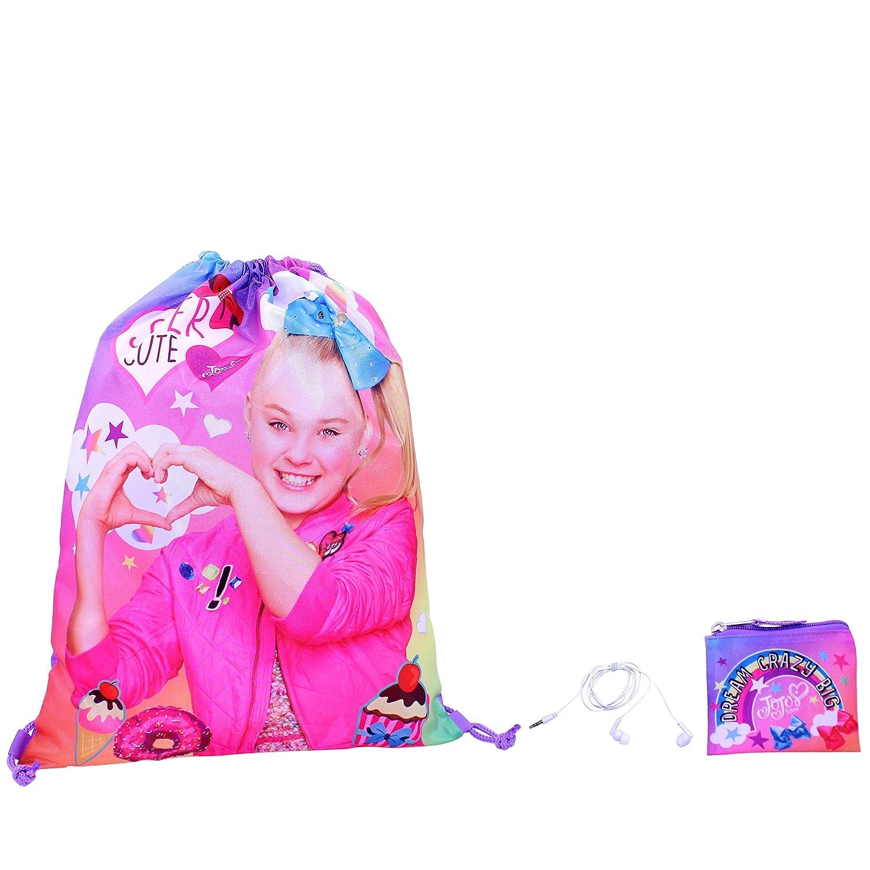 Nickelodeon Girls JoJo Siwa Gift Set Drawstring Bag Pink One Size