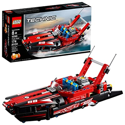 LEGO Technic Power Boat 42089 Building Kit (174 Pieces): Toys & Games