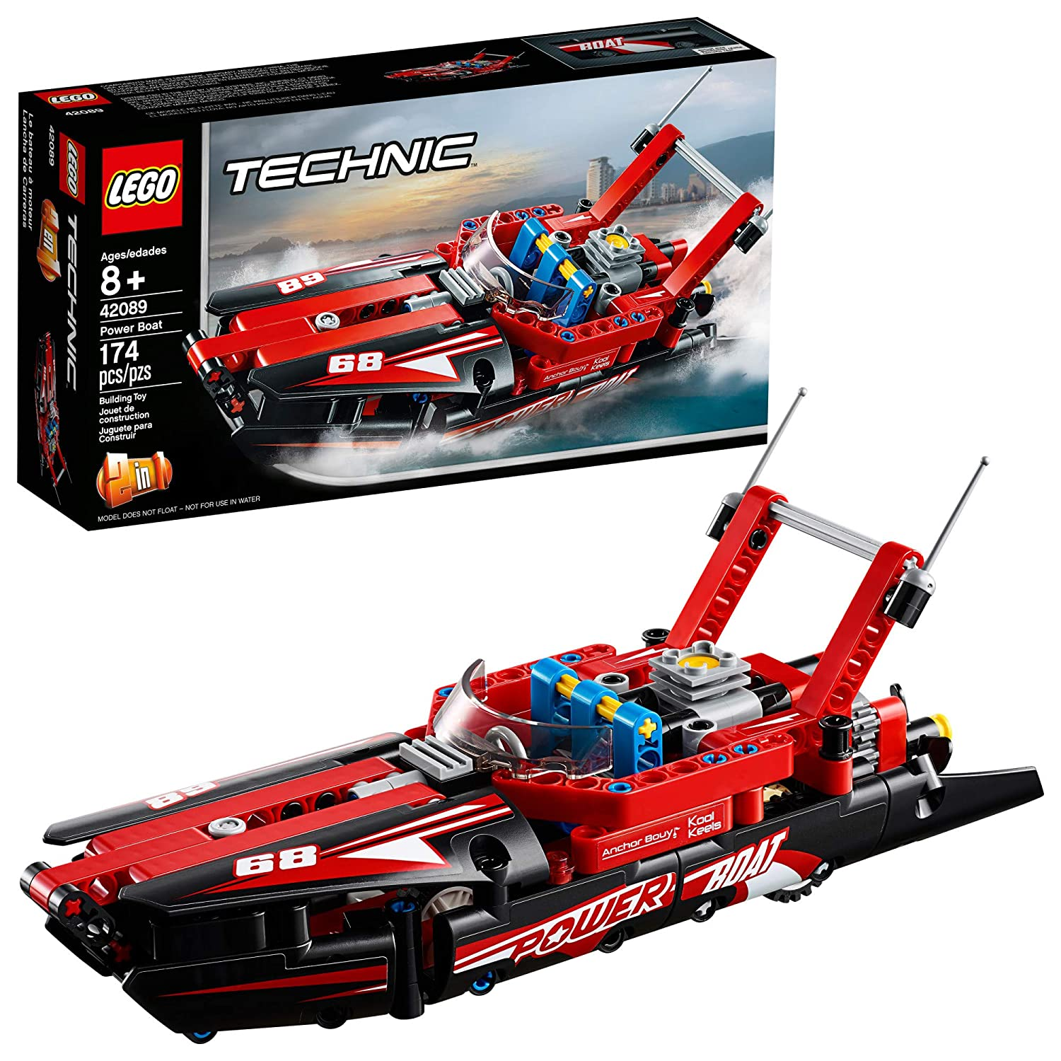 LEGO Technic Power Boat 42089 Building Kit , New 2019