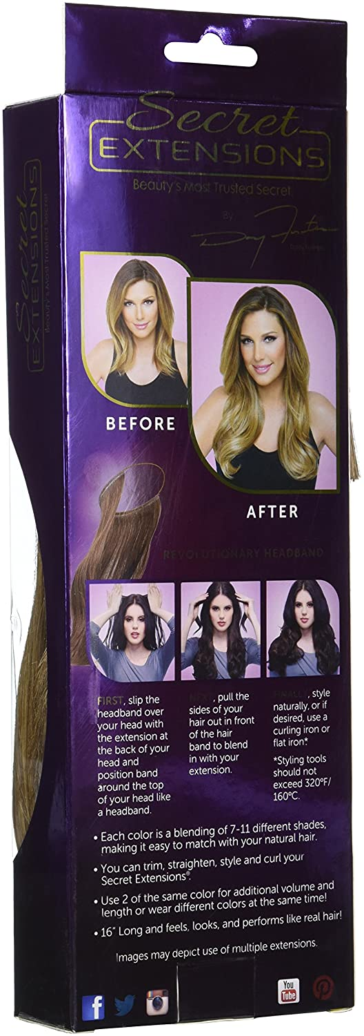 Amazon Secret Extensions Hair Extensions Light Brown Old