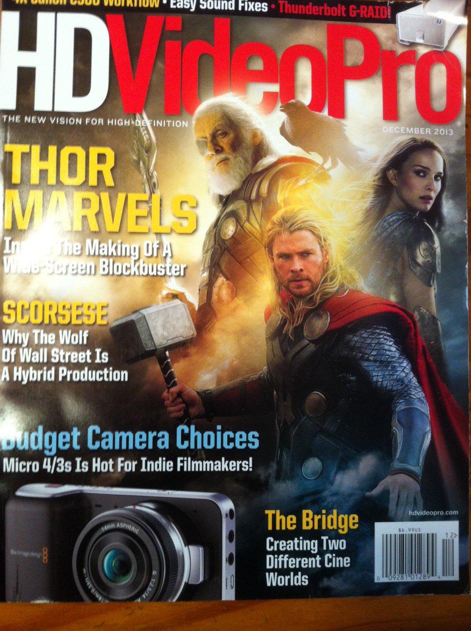 Download HD Video Pro Magazine single issue December 2013 PDF