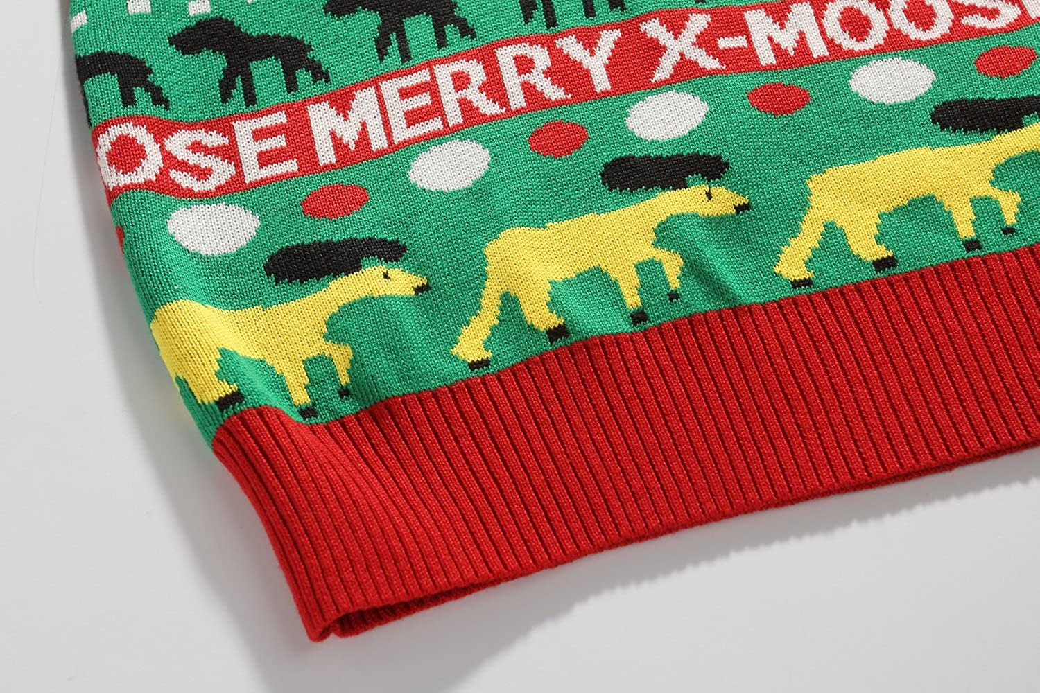 SSLR Mens Crew Neck Funny Xmas Pullover Ugly Christmas Sweater