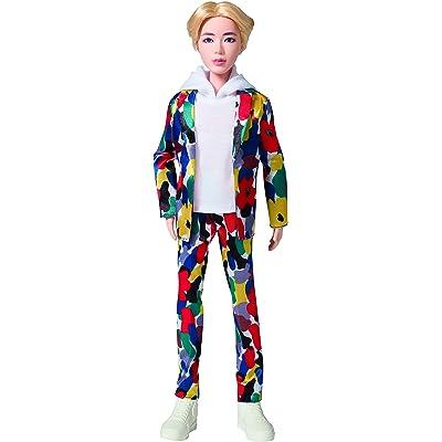 Bangtan Boys BTS Jin Idol Doll: Toys & Games