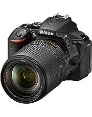 Nikon D5600 Kit AF-S DX 18-140 VR Spiegelreflexkamera (8,1 cm (3,2 Zoll), 24,2 Megapixel) schwarz