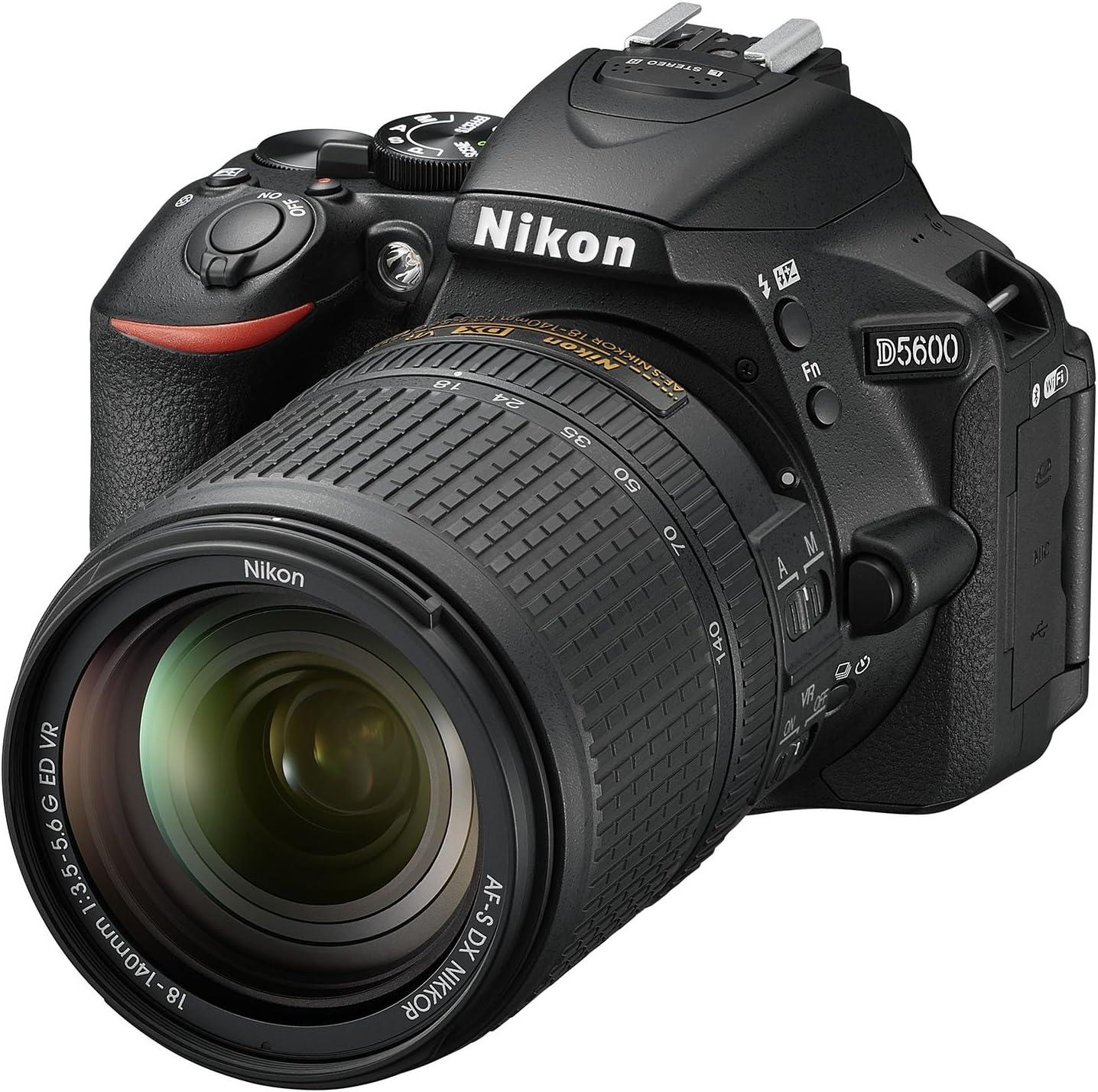 Nikon D5600 - Cámara réflex de 24.2 MP (pantalla táctil de 3