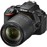 Nikon 1577 D5600 DX-Format Digital SLR with AF-S DX NIKKOR 18-140mm f/3.5-5.6G ED VR Lens, Black