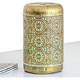 Difusor de aceite esencial de metal vintage difusor de aceite difusor de 250 ml temporizador humidificador aromaterapia difus