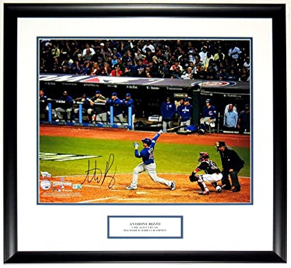 online retailer d3e90 a75a5 Anthony Rizzo Autographed Signed Memorabilia World Series ...