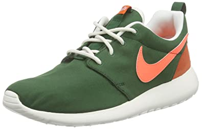 best service 0bb86 a576c Nike Womens WMNS Roshe One Retro Running Shoes, Multicolor (GreenOrange),