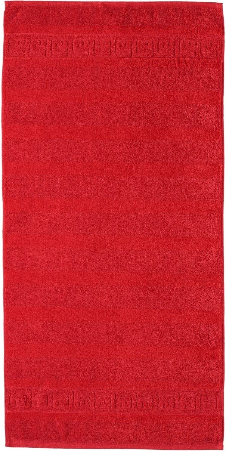 280 Waschhandschuh 16x22 cm Caw/ö Home Handt/ücher Noblesse Uni 1001 Bordeaux