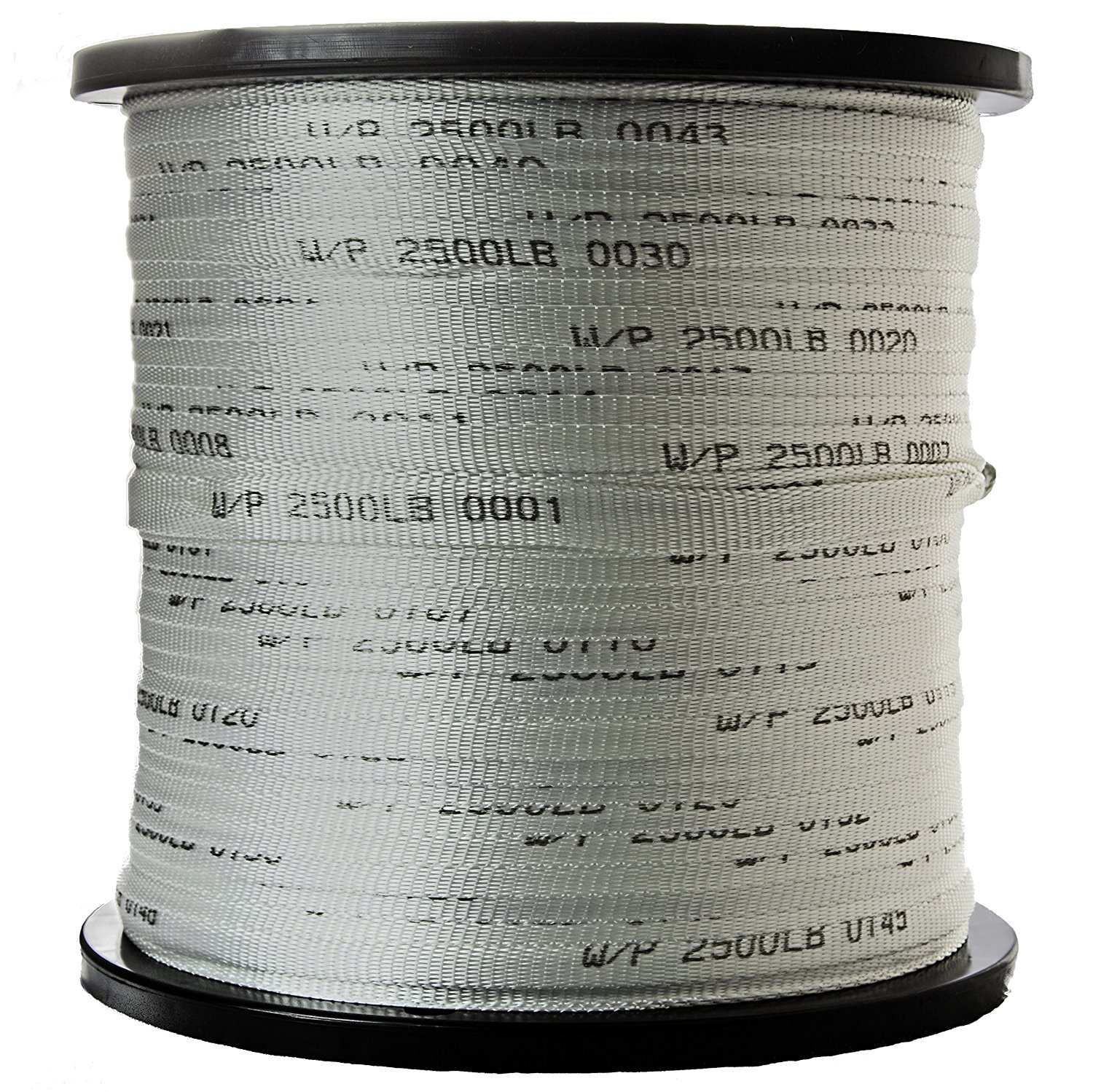 USA Made 2500 Lb 3/4'' Pull Tape/Mule Webbing - 500 FT (Many Strengths and Lengths Available)