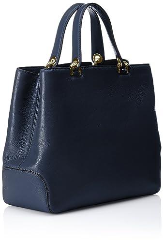 Amazon.com: MICHAEL Michael Kors Annabelle XL Tote Bag Navy One ...